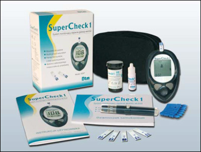 Glukometr Btm SuperCheck 1